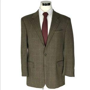 Jos. A. Bank sportcoat brown herringbone size 44R